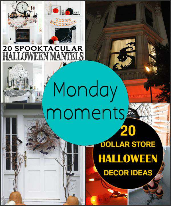 Monday Moments with Halloween Decorations