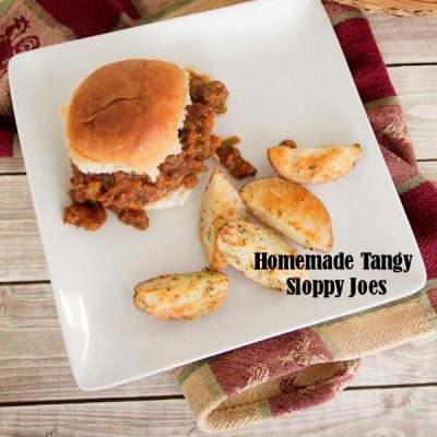 Homemade Tangy Sloppy Joe Sliders