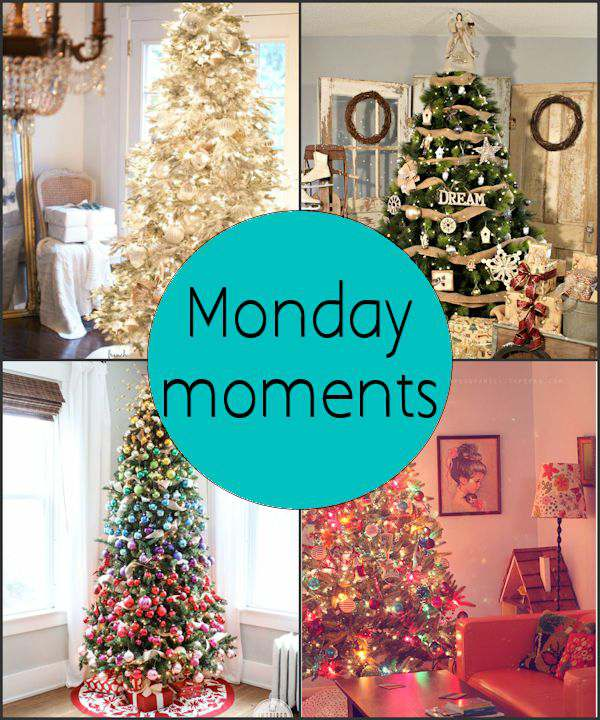 Monday Moments with Christmas Tree Decorations
