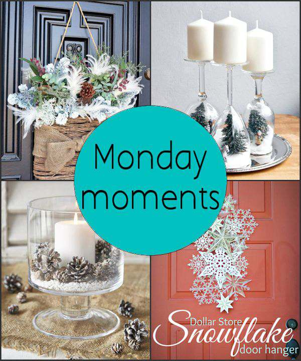 Monday Moments with Winter Decorating