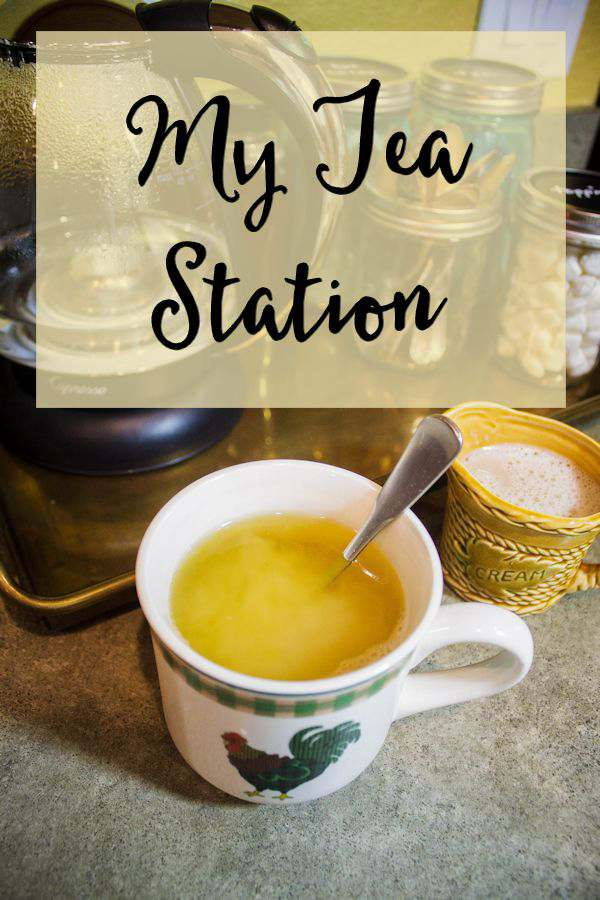 Love tea as much as I do? Learn how easy it is to organize a really cute tea station for your kitchen.
