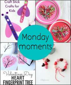 Monday Moments with Valentine Crafts for Kids