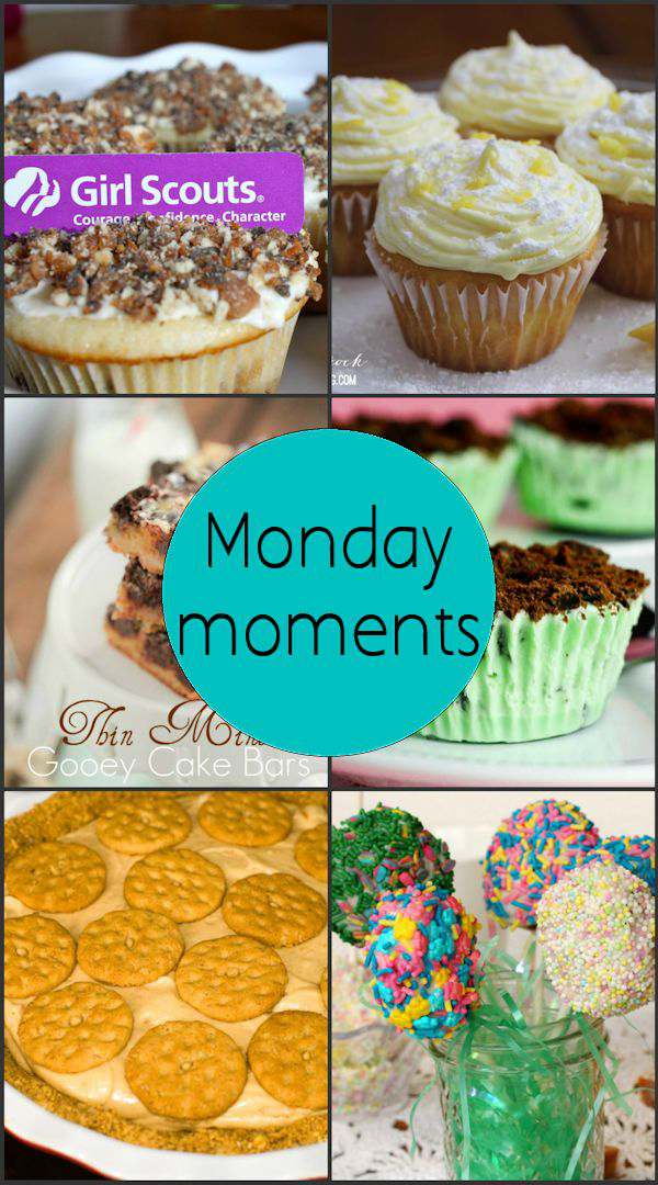 Monday Moment with Girl Scout Cookie Recipes