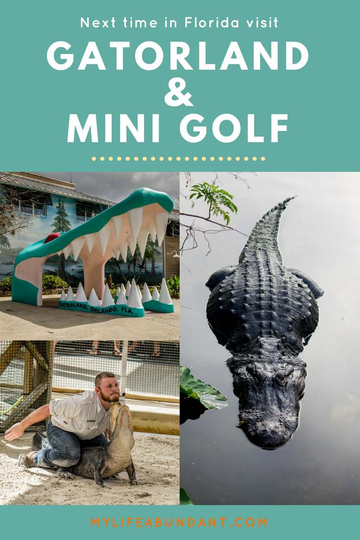 Looking for a day in Orlando that won't break the bank. Visit Gatorland and Congo River Mini Gator Golf in Orlando. A family fun day!