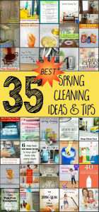 35 Spring Cleaning Ideas & Tips