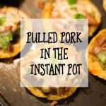 Pulled Pork Using the Instant Pot
