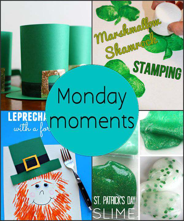 Monday Moments with St. Patrick's Crafts