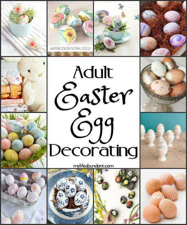 Monday Moments with Adult Easter Egg Decorating Ideas