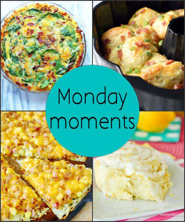 Monday Moments with Mother's Day Brunch Ideas