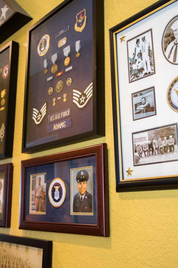 Our Heros Wall