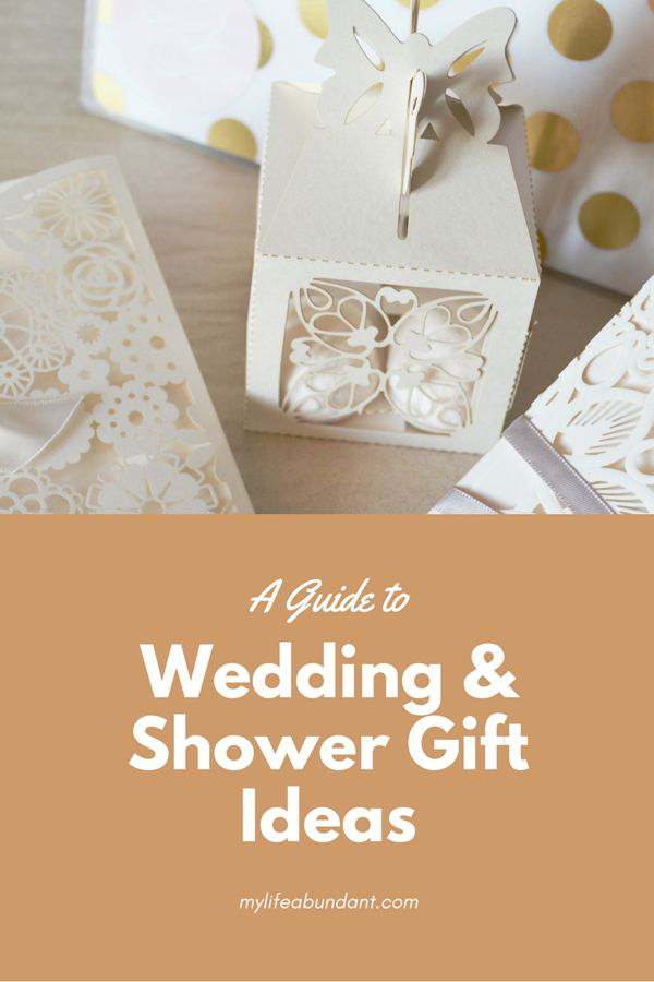 A Guide to Wedding & Shower Gift Ideas