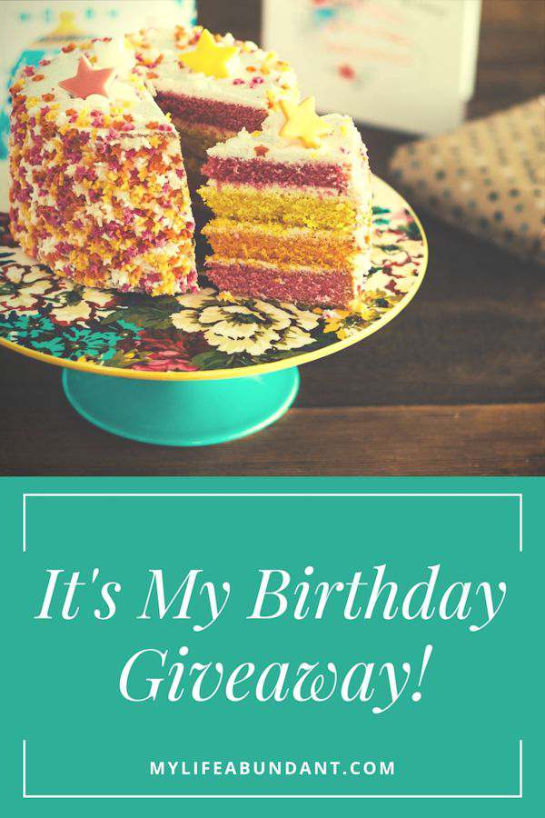Its My Birthday Giveaway