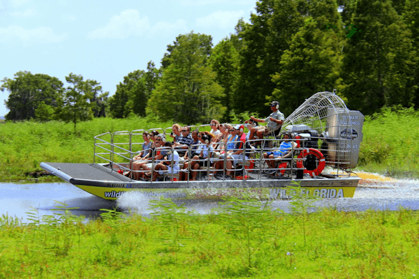 Airboating in Florida