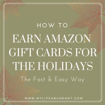 How to Earn Amazon Gift Cards for the Holidays