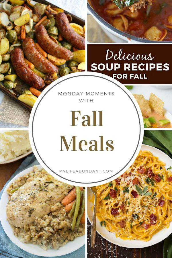 Need ideas for fall meals? Here are 4 comfort meal ideas to serve to guests, family or take to your next gathering. Yum