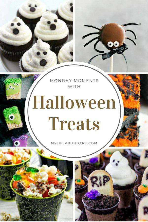 Looking for easy and cute Halloween treat ideas. Here are 6 you can make so easily at home and share at your next party