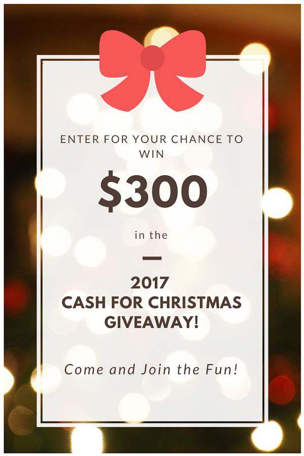 Enter for your chance to win $300 for your Christmas shopping in gift cards from Amazon, Target, Walmart, and Kohls. There will be 5 winners in all!