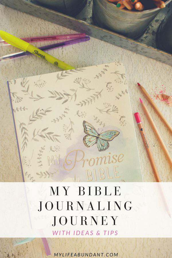 Giveaway time! Are you wanting to start bible journaling? Here are a few tips to get you started and the items I use to journal with.