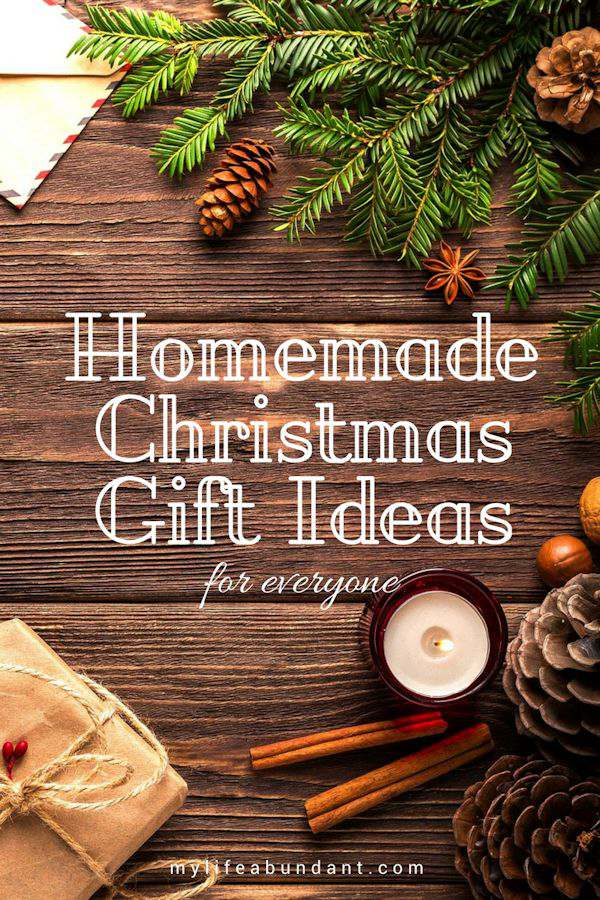 Having a hard time trying to figure out what to give someone on your list this year? How about making something homemade.