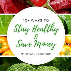 You can Save Money and Stay Healthy and be able to afford the best foods for you and your family.