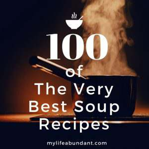 100 of the best soup recipes for all year long. Chili, hearty, vegan, healthy, slow cooker, pasta and served hot or cold.