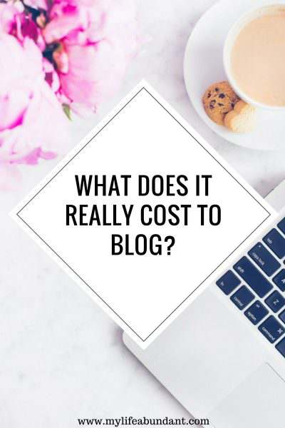What Does It Really Cost to Blog?