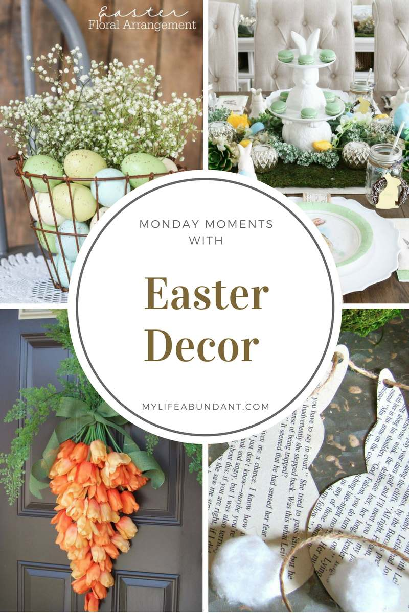 I can't wait to get spring in my home and here are a few really cute ideas on how to do that. Easy DIY projects for any skill level.