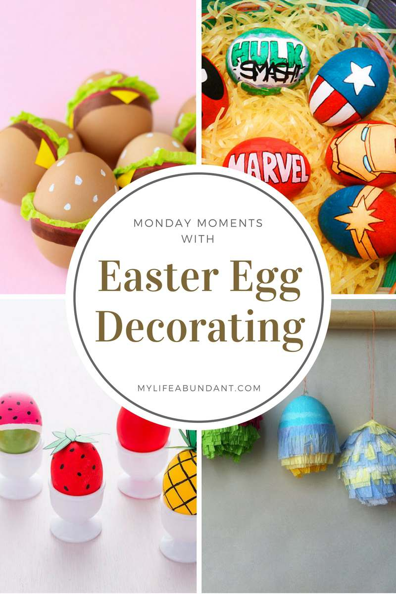 Tired of the same ole way of decorating Easter eggs? How about these very interesting and fun ways of decorating eggs.