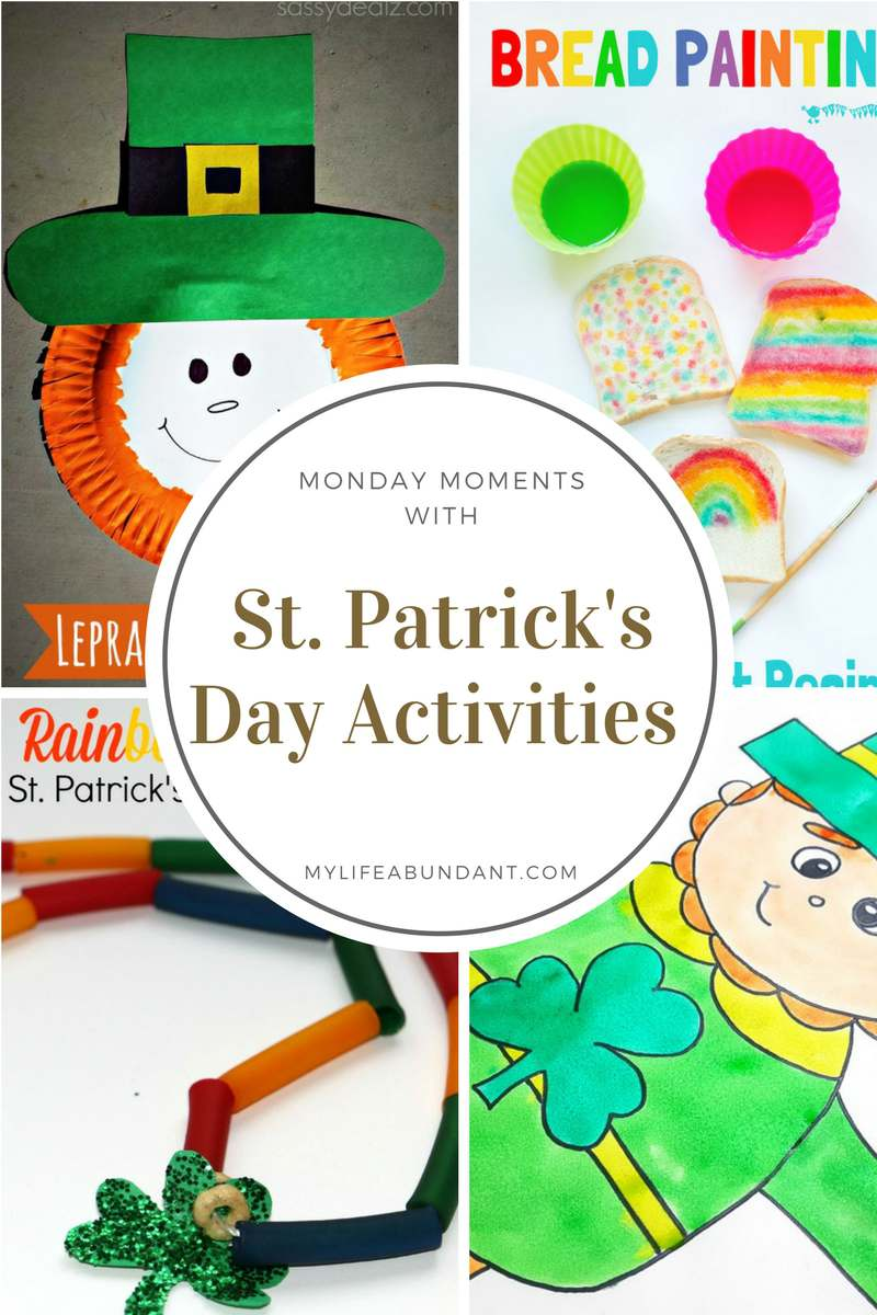 Looking for activities to do with the kids for St. Patrick's Day? Here are a few suggestions that easy and fun.