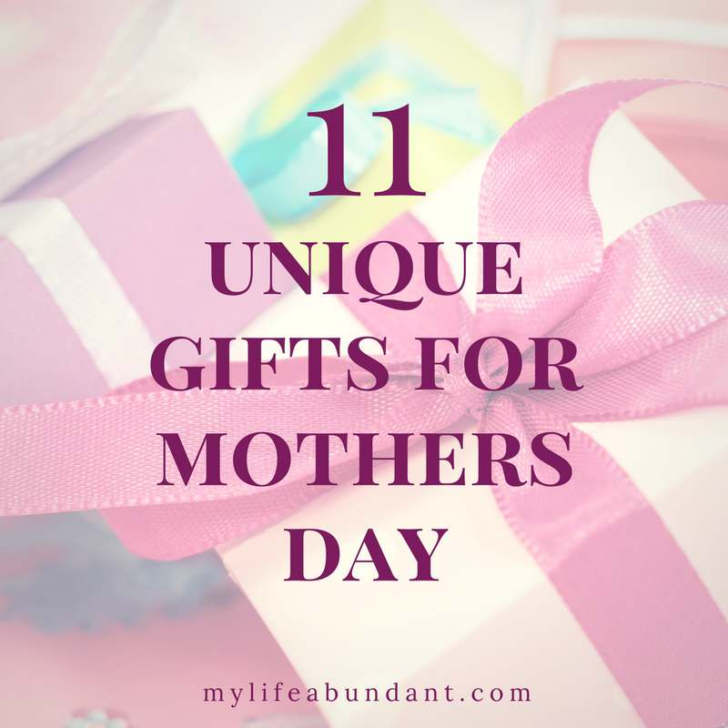 Looking for unique Mothers Day Gift ideas? Here are some chosen for all different types of moms and what they enjoy best