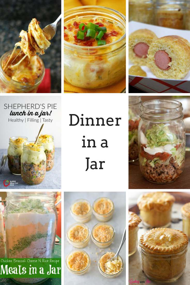 Love Mason Jars? How about using those jars for something besides storage and start making simple or elegant meals with them.