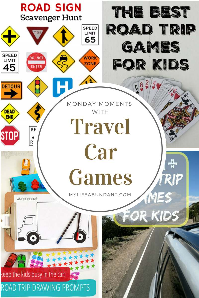 Looking for something to entertain the kids with on your next road trip. Check out over 200 ideas to let the kids enjoy on the road.