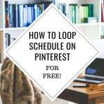 Learn the step by step process on how to loop schedule on Pinterest for free using IFTTT