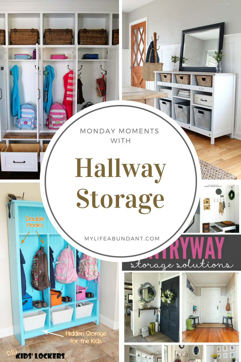Storage is always in demand, no matter how larger or small your home is. Here are a few ideas for storage in the hallways you have in your home.