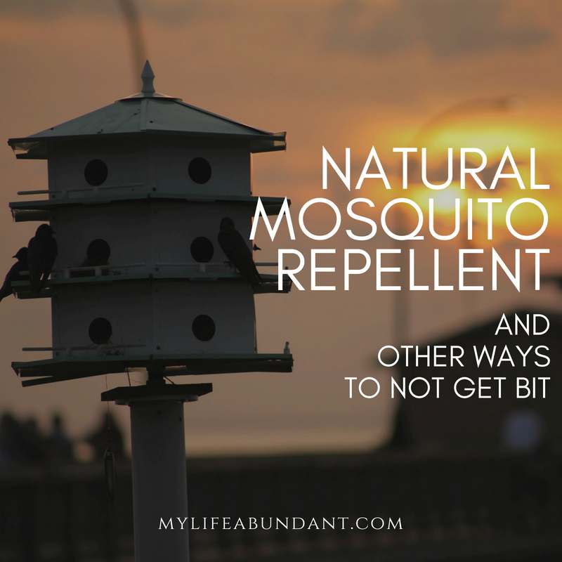 Learn how to naturally repel mosquitoes with plants which repel mosquitoes and make your own mosquito repellent.