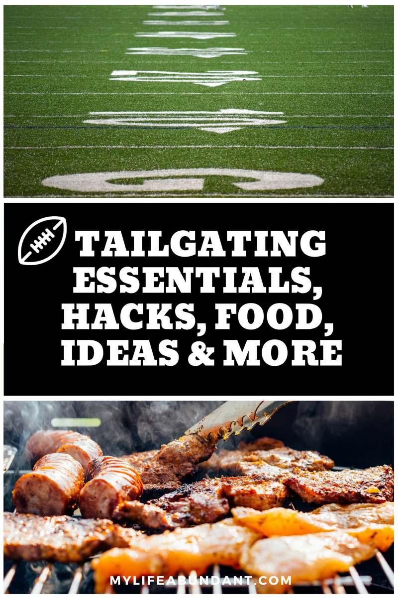 I have put together lists for tailgating essentials, hacks, food, ideas and so much more for you to prepare for this seasons tailgate parties.