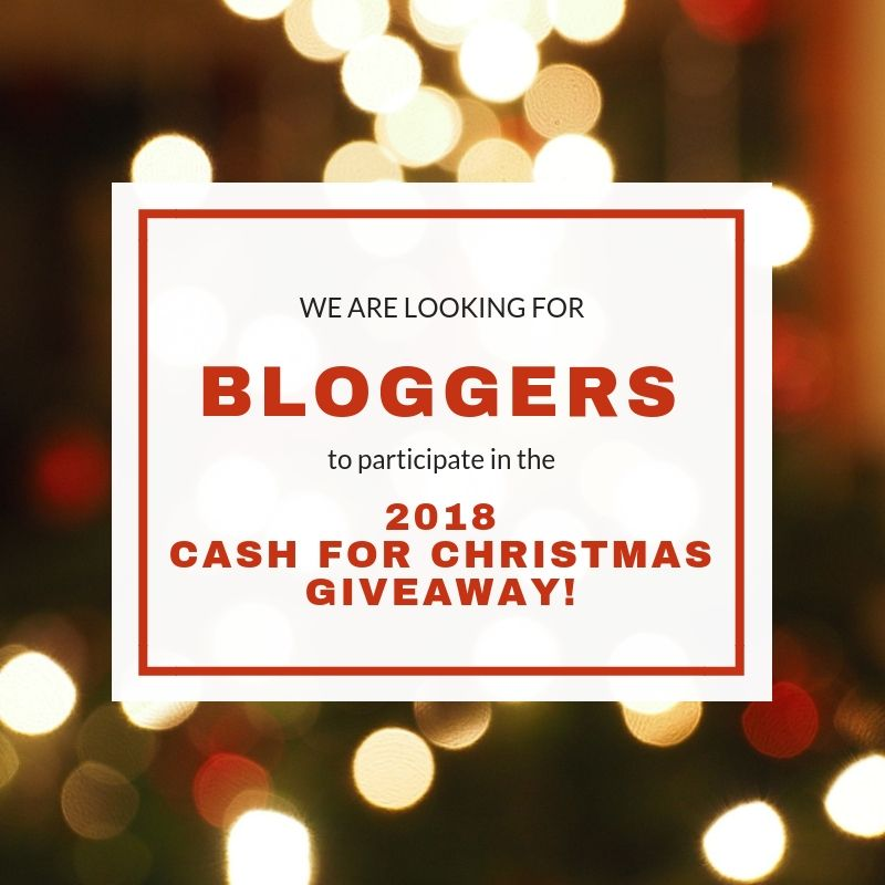 Come and sign up to be a Co-Host in the Cash for Christmas giveaway. If you own a website and want to see more traffic, sign up today.