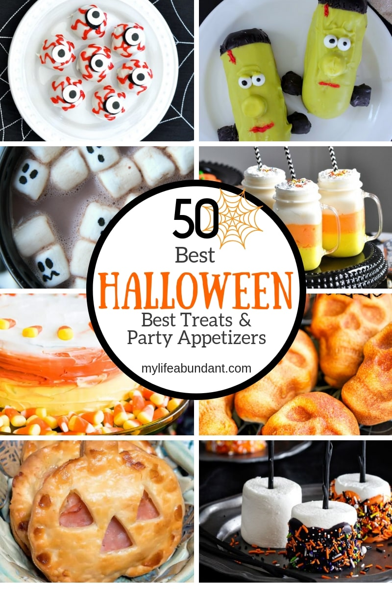 16 Best Halloween Treats & Party Appetizers  My Life Abundant
