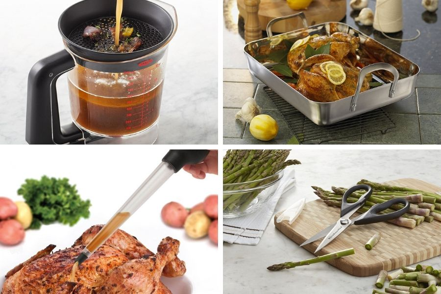 Preparing for the holiday meal can be stressful. Having your kitchen ready with products designed to make your dinner preparation a breeze will take the stress out of the perfect holiday meal.
