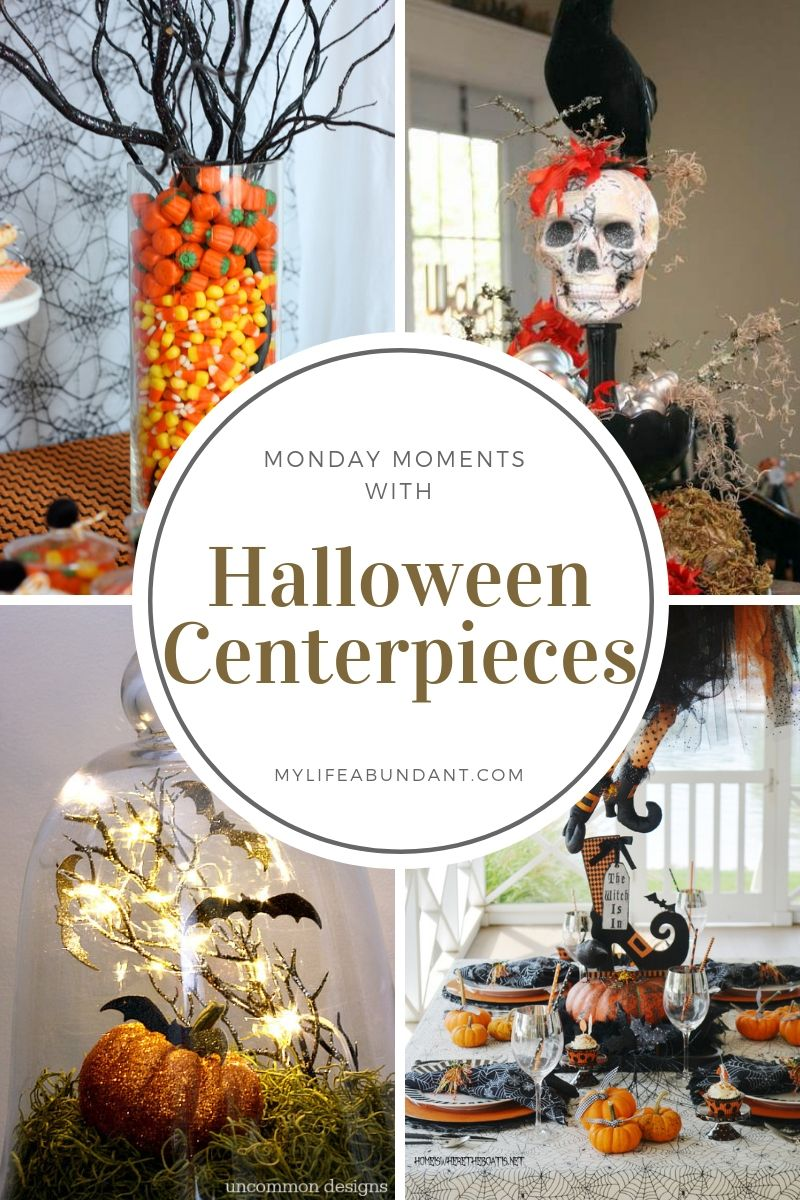 Beautiful or maybe spooky. Different ways to make Halloween centerpieces for your next Halloween party. From simple to extreme. Check out these ideas.