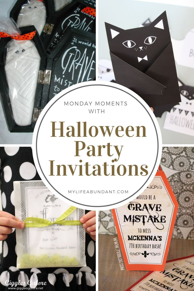 Having a Halloween party? You will need some really spooky invitations to make your next chilling party a huge hit. Here are a few examples for inspiration.