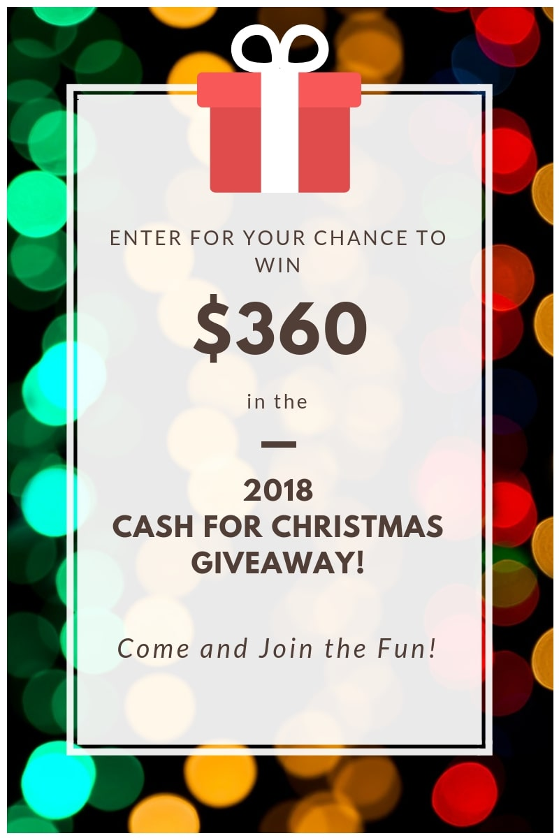 Enter for your chance to win $360 in gift cards from Amazon, Target, Walmart, or Kohls.