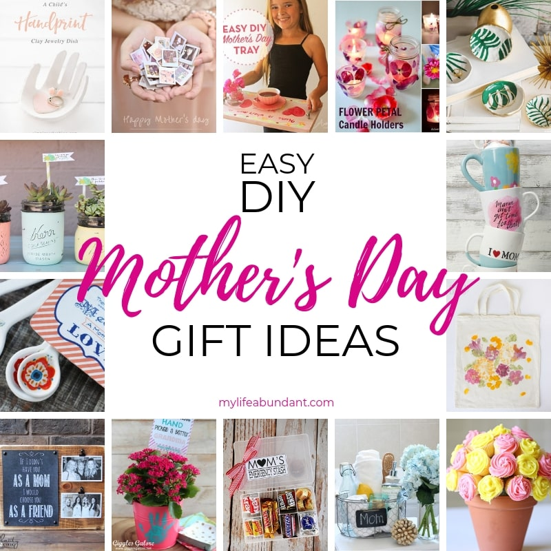 Looking for a special gift to make for Mother's Day? Keepsake and pampering ideas Mom will sure to love!