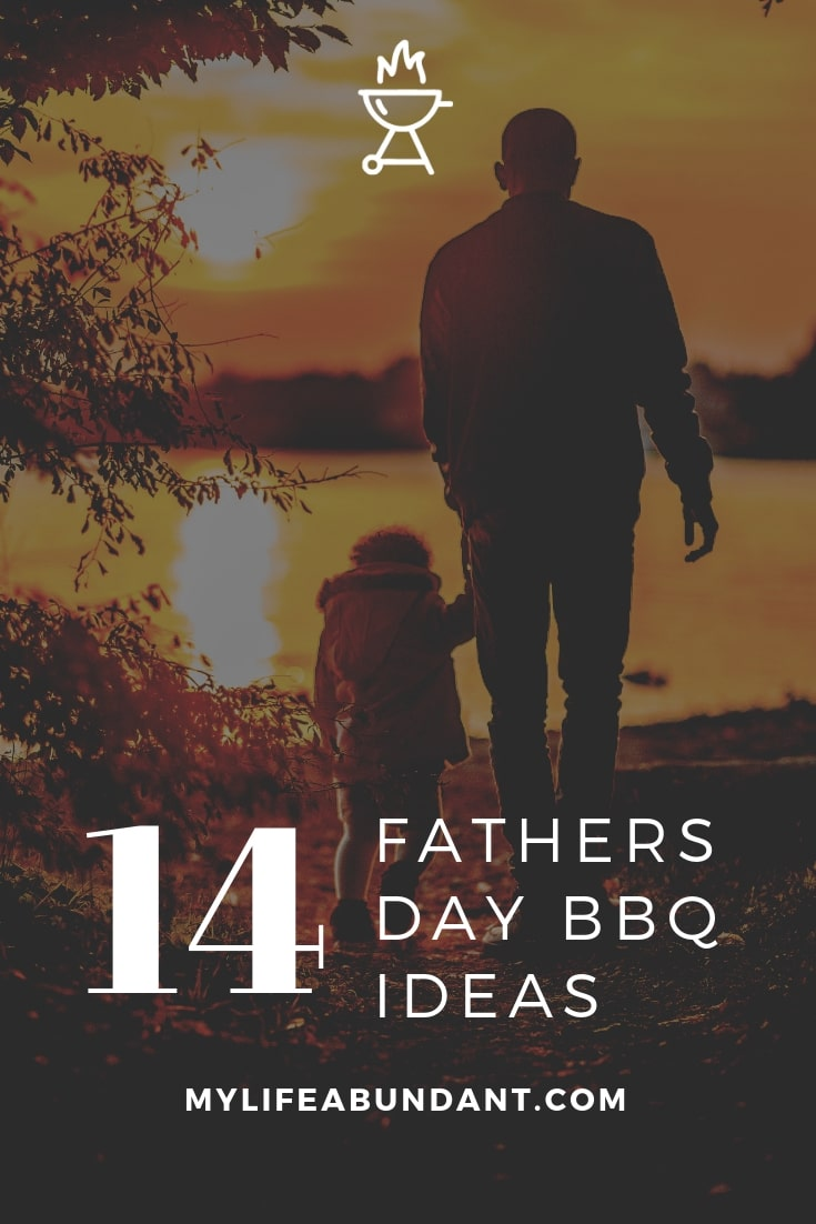 Father's Day BBQ ideas with recipes for dips, salads, meat, veggies, and dessert! Plus, a few Fathers Day DIY gift ideas!