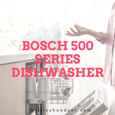 The Bosch 500 Series Dishwasher with Auto Air is a premium appliance for high touch tech fans who enjoy the easier life in the kitchen.