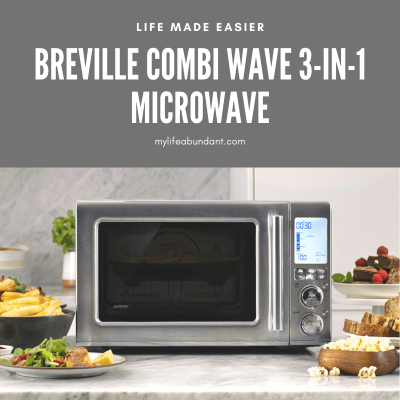Introducing the NEW! Breville Combi Wave 3-in-1 Microwave which combines fast cooking and air fries too!