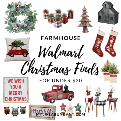 Check out my top picks for Walmart Christmas decorations this season, and see how easy it is to decorate for the holidays for under $20.