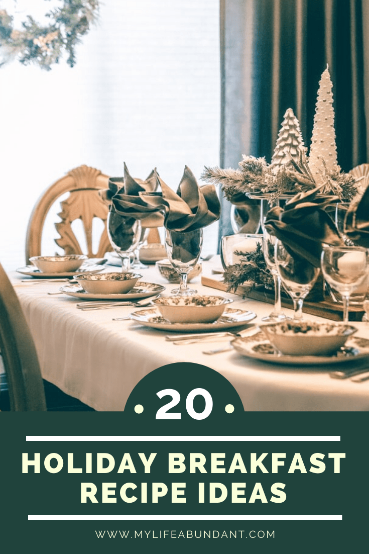 Holidays and special occasions need easy special recipes for your family and guests with a round-up of some yummy breakfast recipe ideas.