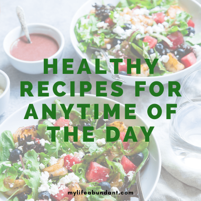 Looking for some easy healthy recipes to make for dinner? Enjoy this list of recipes for any time of the day the whole family will love.