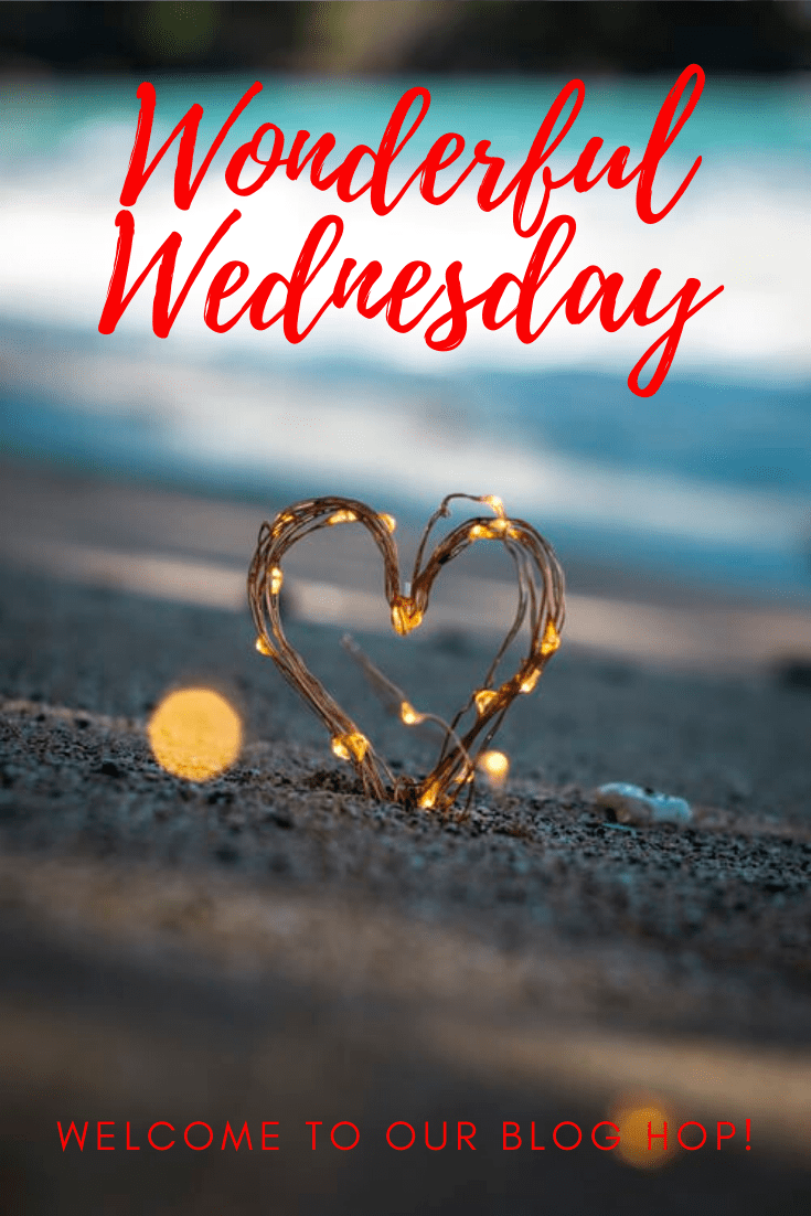 Welcome to the Wonderful Wednesday Blog Hop where we enjoy linking up posts about recipes, crafts, DIY, everyday life and more. The party starts every Tuesday at 7:00 pm EST. Come and join!! #wwbloghop